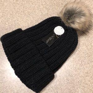chatties Accessories - 5 for  25 SALE Cute Black Winter Hat w  Pom-Pom 61d8d2be4e9